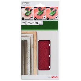 Bosch papier ścierny prostokątny 115 x 230 mm - 10 szt Products
