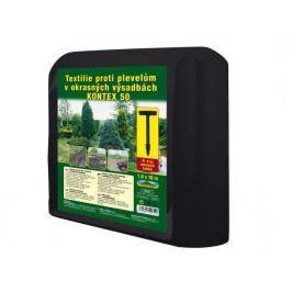 NOHEL GARDEN agrotkanina KONTEX 1,6x10m czarna Maty, folie ogrodowe