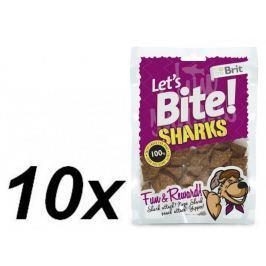 Brit przysmak dla psa Lets Bite Sharks 10x150 g Products