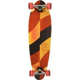 Kryptonics Longboard Long Base Longboard Split Grains 33