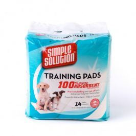 Simple Solution Hygienické podložky 14ks Akcesoria, podłoża dla psów