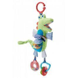Fisher-Price Aktywizujący krokodylek zawieszka DYF89 Zabawki wiszące