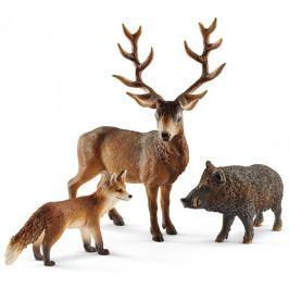 Schleich Zestaw leśne zwierzątka 41458 Zwierzęta