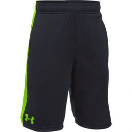 Under Armour Spodenki Eliminator Short Black Fuel Green Spodenki treningowe
