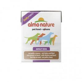 Almo Nature Daily Menu, kurczak z wołowiną, 12x375g Products