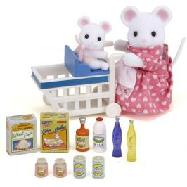 Sylvanian Families Mama myszka na zakupach 2401