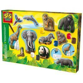 SES Zwierzęta - odlewy gipsowe do malowania Zrób to sam