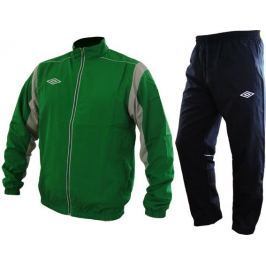 Umbro zestaw dresowy Soupr.TEAM Woven II Emer/Tit/Wh CHI S Spodnie dresowe
