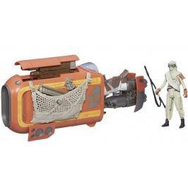 Star Wars Model Skutera Repulsorowego Speeder Bike Rey Jakku
