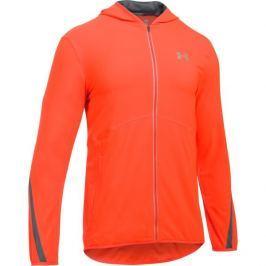Under Armour kurtka Run True SW Jacket Phoenix Fire Rhino Gray Reflective S Kurtki biegowe, fitness