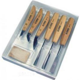Narex zestaw dłut i noży rzeźbiarskich standard - 6 elementów (894610)(894610) Dłuta
