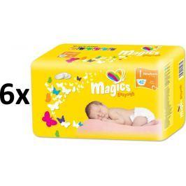 Magics Easysoft Newborn (2-5kg) Megapack - 252szt. Magics