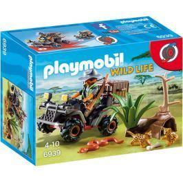 Playmobil Kłusownik z quadem 6939 Playmobil