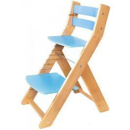 Wood Partner Krzesełko dla dziecka MONY nature, niebieski
