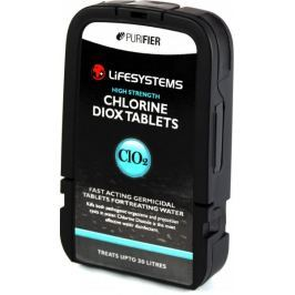 Lifesystems tabletki do uzdatniania wody Chlorine Dioxide Tablets (30 Pack)