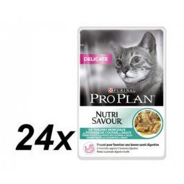 Purina Pro Plan CAT DELICATE saszetka rybna 24x85g