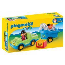 Playmobil Samochód z przyczepą dla konia 6958