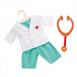 Heless Strój dla lalki lekarka ze stetoskopem