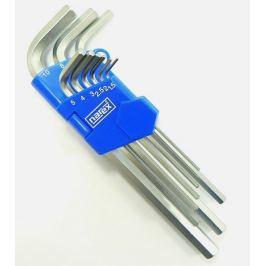 Narex zestaw kluczy imbusowch sześciokątnych, 9 sztuk (443000860)