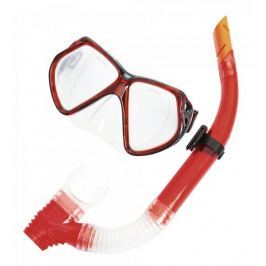 Bestway Zestaw do nurkowania, okulary + rurka, czerwony