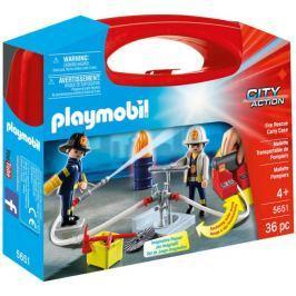 Playmobil Skrzynka Strażacy 5651