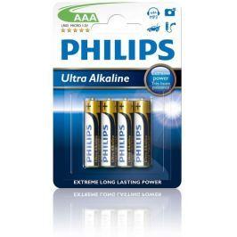 Philips baterie AAA 4 szt Ultra Alkaline (LR03E4B/10)