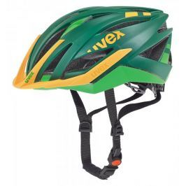 Uvex kask rowerowy Ultra Snc Green-Orange Mat 52-56
