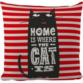 Butter Kings Poduszka Home With Cat 50 x 50 cm