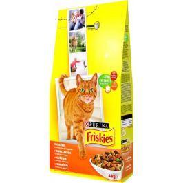 Friskies sucha karma dla kotaAdult z drobiem - 4 kg