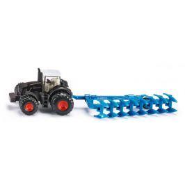 SIKU model traktora Fendt z pługiem 1:87