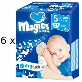 Magics Pieluszki Premium Junior Megapack 162 sz