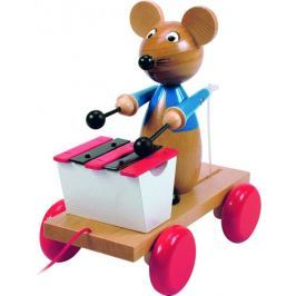 Woody mysz na sznurku z ksylofonem