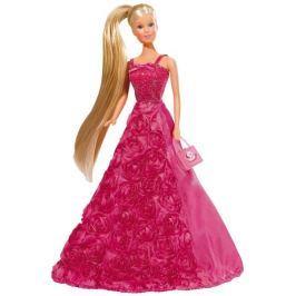 SIMBA lalka Steffi Księżniczka Kwiatowa ciemnoróżowa