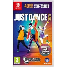 Ubisoft gra Just Dance 2017 na konsolę Nintendo Switch