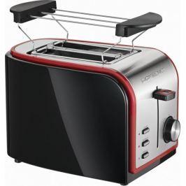 Clatronic toster TA 3557, czarno-czerwony