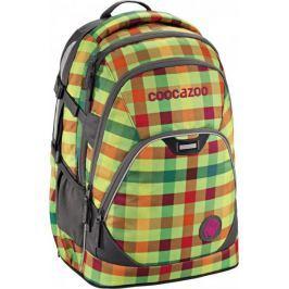 CoocaZoo Plecak EvverClevver II, Hip To Be Square Green