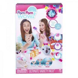 TM Toys Pom Pom Wow- Zestaw startowy Extra 120 pomponów 48528