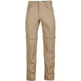 Marmot spodnie outdoorowe Transcend E Convertible Pant Desert Khaki 30