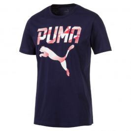 Puma Koszulka Brand Tee Peacoat S