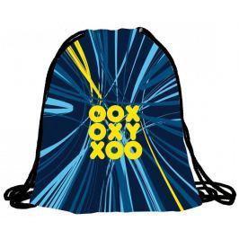 Karton P+P Worek na kapcie OXY niebieski