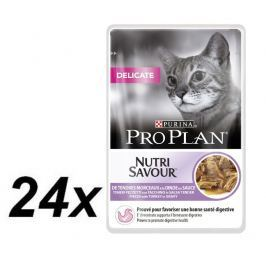 Purina Pro Plan CAT DELICATE saszetka indyk 24x85g