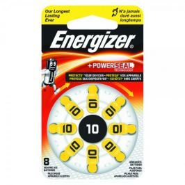 Energizer baterie 10 8 szt Hearing Aid
