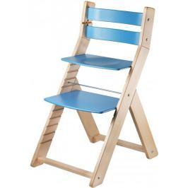 Wood Partner Krzesełko dla dziecka SANDY nature, niebieski