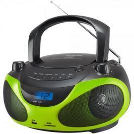 SENCOR radioodtwarzacz SPT 228, czarny/zielony