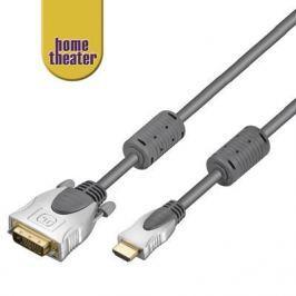 Home Theater przewód HDMI - DVI, M/M, 3 m