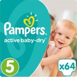 Pampers Pieluszki Active Baby 5 Junior (11-18kg). 64 sztuk