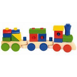 Woody Składany pociąg towarowy - dwa samochody