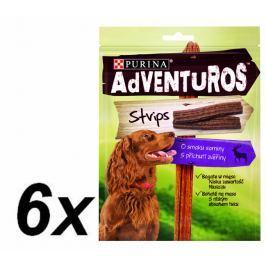 Purina przysmak dla psa ADVENTUROS Strips 6 x 90g