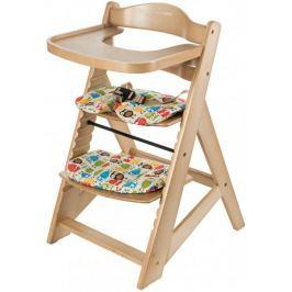 Sun Baby Drewniane krzesełko 2 w 1 Woody, Natural