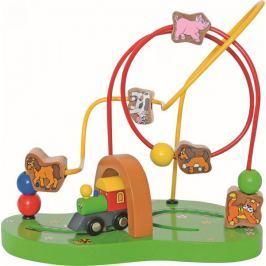 Woody mechaniczny labirynt dla najmłodszych